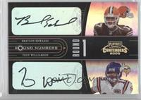 Braylon Edwards, Troy Williamson /50