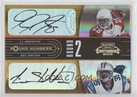 Reggie Brown, Vincent Jackson, J.J. Arrington, Eric Shelton /10