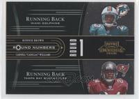 Carlos Rogers, Jason Campbell, Ronnie Brown, Carnell Williams /1000