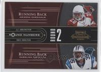J.J. Arrington, Reggie Brown, Vincent Jackson, Eric Shelton /250