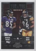 Derrick Mason, Hines Ward /450
