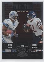 Cedric Benson, Kevin Jones /450