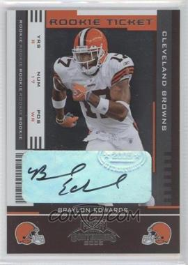 2005 Playoff Contenders #112 - Braylon Edwards