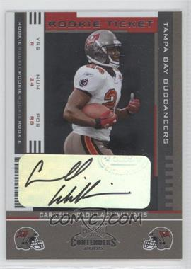 2005 Playoff Contenders #115 - Rookie Ticket - Cadillac Williams /380