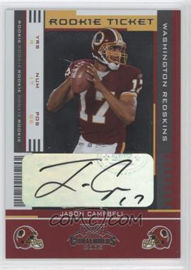 2005 Playoff Contenders #144 - Rookie Ticket - Jason Campbell