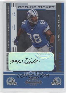2005 Playoff Contenders #159 - Rookie Ticket - Mike Williams /73