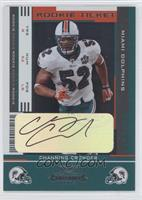 Rookie Ticket - Channing Crowder