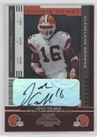 Rookie Ticket - Josh Cribbs