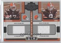 Braylon Edwards, Charlie Frye, Troy Williamson, Ciatrick Fason /250