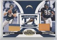 Drew Brees, Antonio Gates /25
