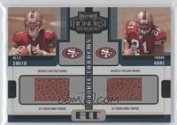 Frank Gore, Alex Smith /125