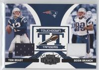 Deion Branch, Tom Brady /125