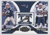 Deion Branch, Tom Brady