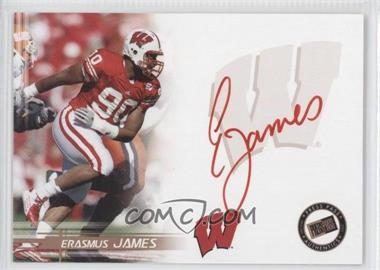 2005 Press Pass Authentic Autographs Bronze Red Ink #N/A - Erasmus James