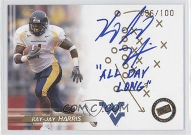 2005 Press Pass Autographs Gold Inscriptions #N/A - Kay-Jay Harris