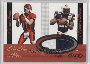 2005 SAGE - Jersey Combos #C1 - Alex Smith, Ronnie Brown /99