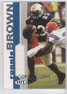2005 SAGE Hit [???] #RB - Ronnie Brown