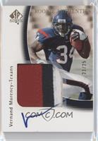 Vernand Morency #23/25
