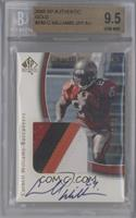 Carnell Williams /25 [BGS 9.5]