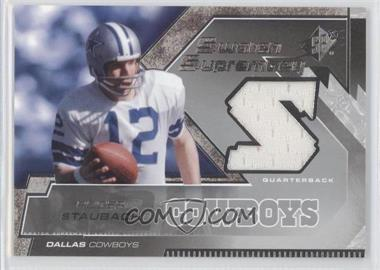 2005 SPx Swatch Supremacy #SW-RS - Roger Staubach
