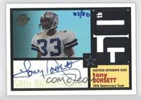 Tony Dorsett /50