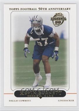 2005 Topps - Factory Set Bonus Rookies Dallas Cowboys #1 - Kevin Burnett
