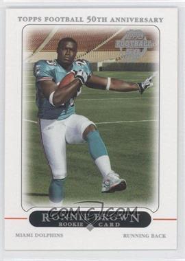 2005 Topps - Factory Set Bonus Rookies #4 - Ronnie Brown