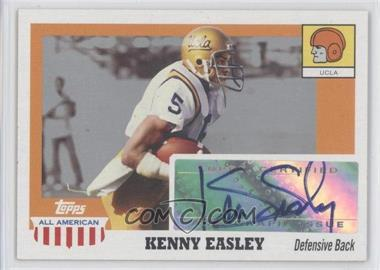 2005 Topps All American Retired Edition Autographs #A-KE - Kenny Easley