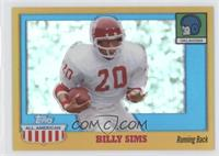 Billy Sims /55