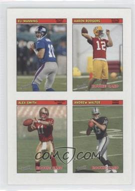 2005 Topps Bazooka - 4-on-1 Stickers #42 - Eli Manning, Aaron Rodgers, Alex Smith, Andrew Walter