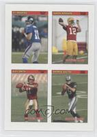 Eli Manning, Aaron Rodgers, Alex Smith, Andrew Walter