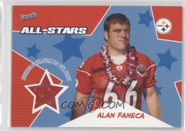 2005 Topps Bazooka All-Stars Relics #BA-AF - Alan Faneca