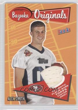 2005 Topps Bazooka Bazooka Originals #BO-AS - Alex Smith
