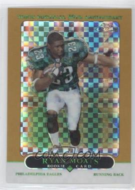 2005 Topps Chrome Gold X-Fractor #184 - Ryan Moats /399