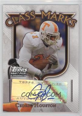 2005 Topps Draft Pick & Prospects - Class Marks #CM-CHO - Cedric Houston