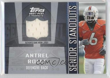 2005 Topps Draft Pick & Prospects - Senior Standouts Relics #SS-AR2 - Antrel Rolle
