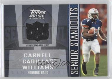2005 Topps Draft Pick & Prospects - Senior Standouts Relics #SS-CW2 - Carnell Williams