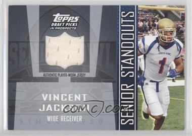2005 Topps Draft Pick & Prospects - Senior Standouts Relics #SS-VJ - Vincent Jackson