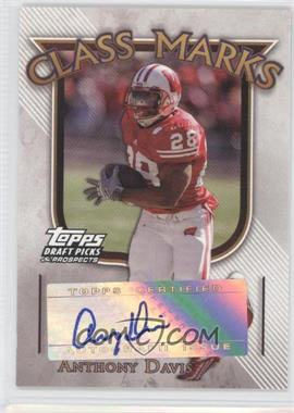 2005 Topps Draft Pick & Prospects Class Marks #CM-AD - Anthony Davis