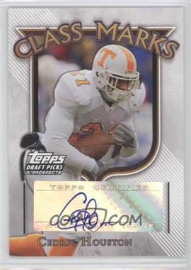 2005 Topps Draft Pick & Prospects Class Marks #CM-CHO - Cedric Houston