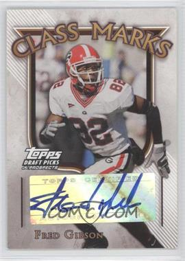 2005 Topps Draft Pick & Prospects Class Marks #CM-FG - Fred Gibson