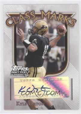 2005 Topps Draft Pick & Prospects Class Marks #CM-KO - Kyle Orton