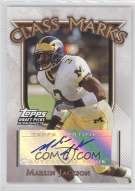 2005 Topps Draft Pick & Prospects Class Marks #CM-MJ - Marlin Jackson