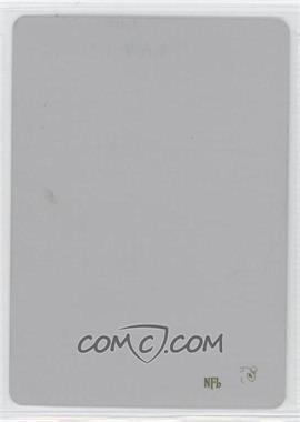 2005 Topps Draft Pick & Prospects Printing Plate Yellow #1 - Marvin Harrison /1