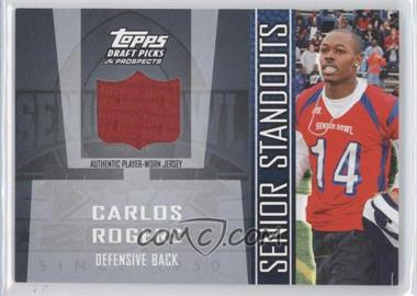 2005 Topps Draft Pick & Prospects Senior Standouts Relics #SS-CR - Carlos Rogers