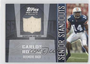 2005 Topps Draft Pick & Prospects Senior Standouts Relics #SS-CR2 - Carlos Rogers