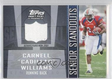 2005 Topps Draft Pick & Prospects Senior Standouts Relics #SS-CW - Carnell Williams