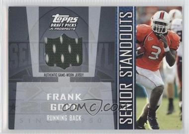2005 Topps Draft Pick & Prospects Senior Standouts Relics #SS-FGO - Frank Gore
