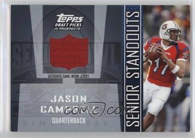 2005 Topps Draft Pick & Prospects Senior Standouts Relics #SS-JC - Jason Campbell