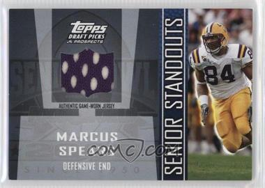 2005 Topps Draft Pick & Prospects Senior Standouts Relics #SS-MS2 - Marcus R. Spears